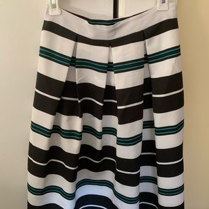 NY&Co striped skirt
